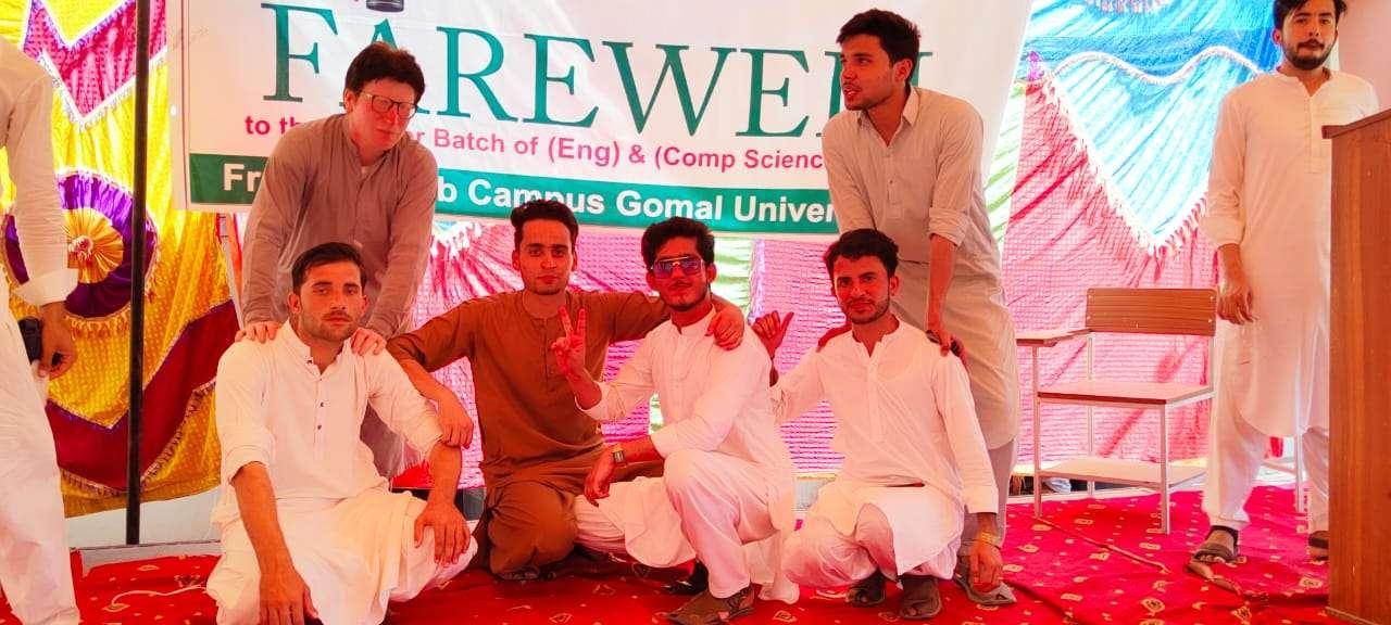 Farwell batch students
